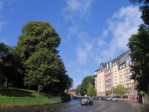 Straße in Glasgow