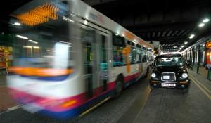 Straßenverkehr Glasgow