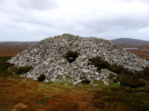 Cairn auf North Uist